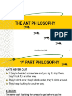 Ant Philosophy.pps