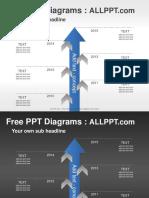 Arrow Timeline PPT Diagrams Standard