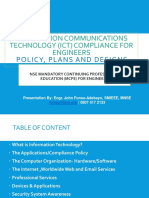 Information Communication Technology (Ict) Compliance for Engineers