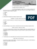 Quimica - Taller Estequiometria
