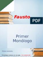 Presentación de Fausto