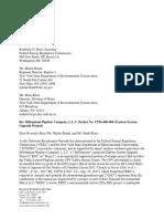 DRN to FERC & NYSDEC - 9-1-2017