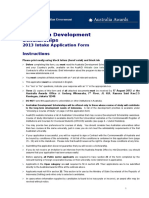 Ads Applicationform 2012