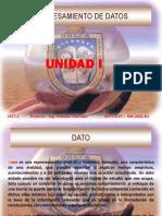 Unidad 1 - Procesamiento de Datos  UNEFA ZULIA