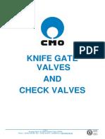 Cmo Knife Gate Valves