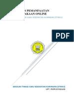 Pedoman Pemanfaatan Perpustakaan Online