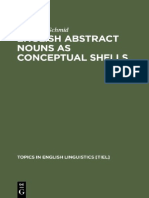 English Abstract Nouns as Conceptual Shells,  From Corpus to Cognition