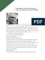 Manuel Delgado x Plataforma Urbana