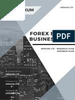Apexum - Forex Broker Business Plan