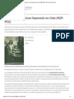 Impacto de La Depresion Historia