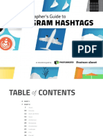 Photographers Guide Instagram Hashtags