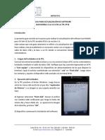 Guia Para Actualización de Software de La Tpl