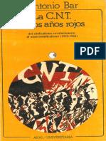 Bar, Antonio - La CNT en Los Años Rojos [Anarquismo en PDF]