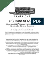 D20 - Ruins of Karse