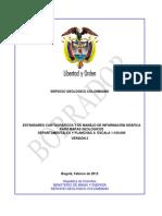 Estándares Cartográficos Mapas Geológicos v.2 - 2012 - PUBLICO