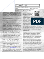 Nov - Dec 2007 Trout Line Newsletter, Tualatin Valley Trout Unlimited