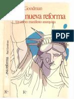 Goodman, Paul - La nueva reforma [Anarquismo en PDF].pdf