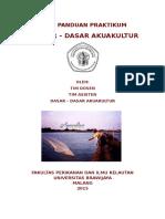 Buku Panduan Dasar-Dasar Akuakultur 2015 (MODUL) NEW VERSION