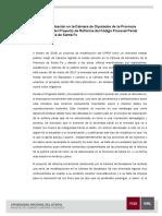 Proyecto de Modificación CPP