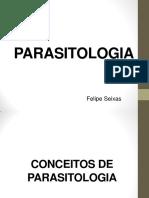 Aula Introdução de PARASITOLOGIA
