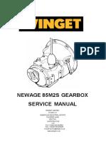 Workshop Manual Newage 85m2 Gearboxes