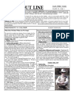 Jan - Feb 2009 Trout Line Newsletter, Tualatin Valley Trout Unlimited