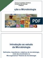 Aula 1 Introdução a Microbiologia