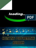 Creating Performance Rubrics