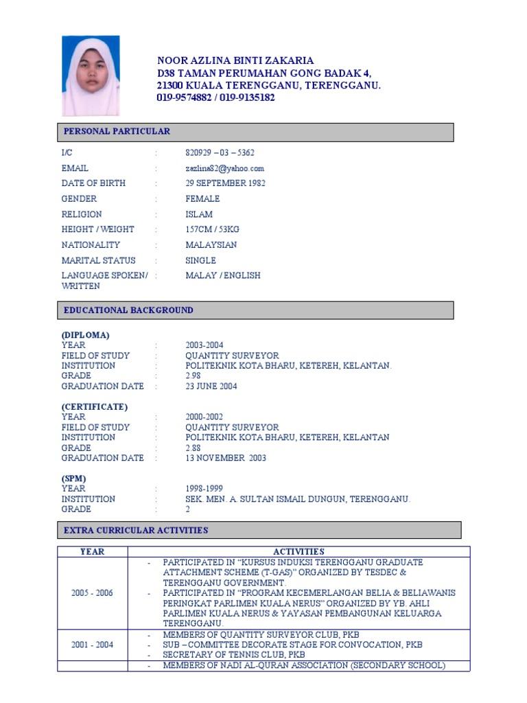 Best Contoh Resume Civil Engineering Images Simple Resume Office