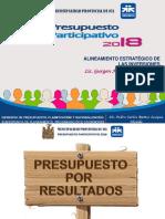Ppto Ptivo Mpi 2018 - Alineamiento Estratégico y Competitivo de Los Proyectos