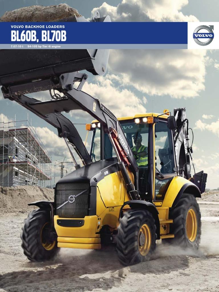 Volvo Backhoe Loaders BL60B BL70B T4i | Loader (Equipment