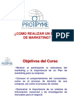 CLASE 6 - Cómo Diseñar Un Plan de Marketing