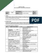 Syllabus Gestión y Auditoría de Tecnologías de Información 2017 - 2