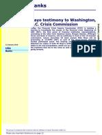 2010-1-13 Calyon (Mayo Testimony)