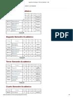 Ingeniería Geológica – Plan de Estudios – UNI