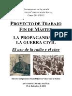 LA PROPAGANDA EN LA GUERRA CIVIL. El uso de la radio y el cine. ANTONIO SÁNCHEZ MUÑOZ.pdf