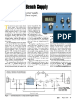 Four Output Bench Supply Article