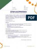 Ficha Tecnica - Acido Glicirrhizico