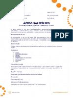 Ficha Tecnica - Acido Salicilico