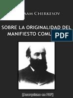 Cherkesov, Varlaam - Confesión de Karl Kautsky sobre la originalidad del Manifiesto Comunista [Anarquismo en PDF].pdf