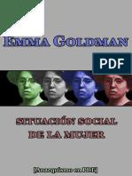 Goldman, Emma - Situación social de la mujer [Anarquismo en PDF].pdf