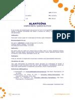 Ficha Tecnica - Alantoina