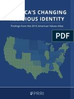PRRI Religion Report