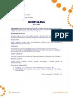 Ficha Tecnica - Bromelina