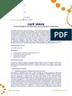 Ficha Tecnica - Cafe Verde