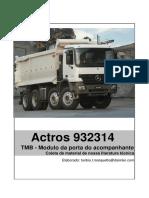 Actros 932314 TMB Módulo Da Porta Do Acomapanhante