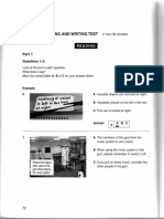 Cambridge PET Book 6 test 4