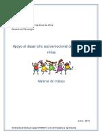 Material de Trabajo Desarrollo Socioemocional