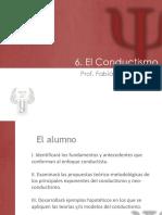 6. Conductismo Parte 1