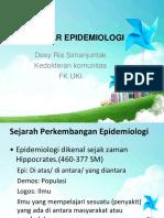 Epidemiologi Dasar - Dr. Desy Ria Simanjuntak